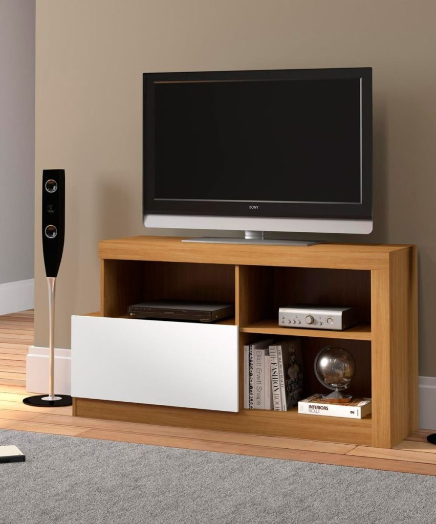 Mueble para TV Natural Blanco